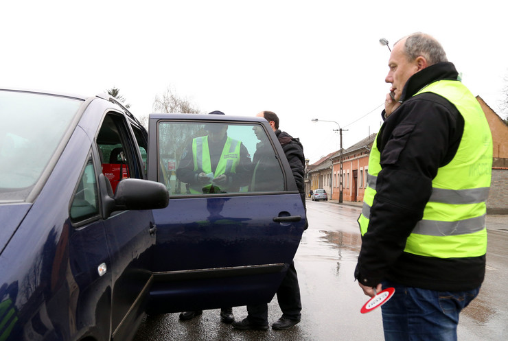 Kontrola divljih prevoznika u Pančevu