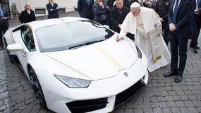 Lamborghini Huracan dla papieża Franciszka