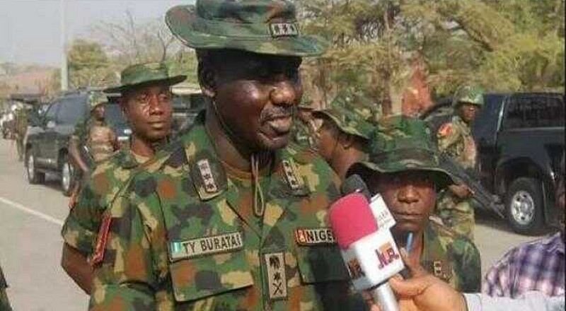 Helicopter crash: Buratai pays condolence visit to Nigerian Air Force