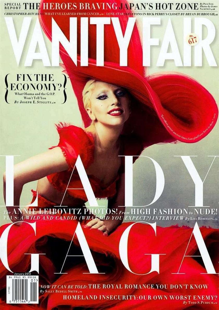 Lady Gaga, Vanity Fair