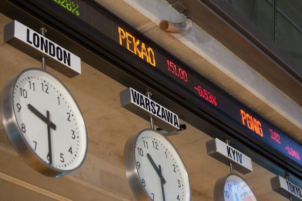 Środowa sesja na GPW kończyła się na czerwono. WIG20 stracił 0,8%, mWIG40 zniżkował o 1,5%