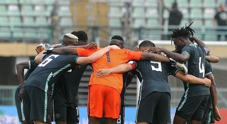 Super Eagles of Nigeria finished their AFCON qualifier unbeaten  (Instagram/Super Eagles)