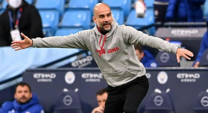 Manchester City manager Pep Guardiola Creator: Laurence Griffiths