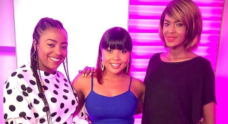 Jackie Matubia, Kush Tracey and Noni Gathoni. Switch TV presenter quits days after confirming breakup with husband
