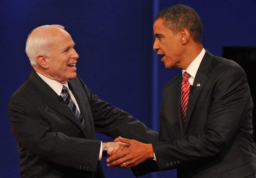 McCain przegrał z Obamą walkę o fotel prezydenta