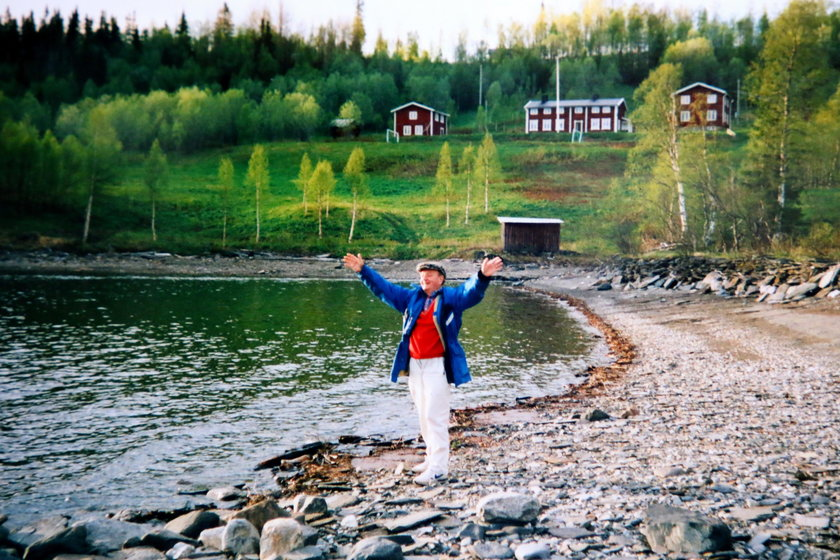 Bernt Lundin - zdjęcie z młodości