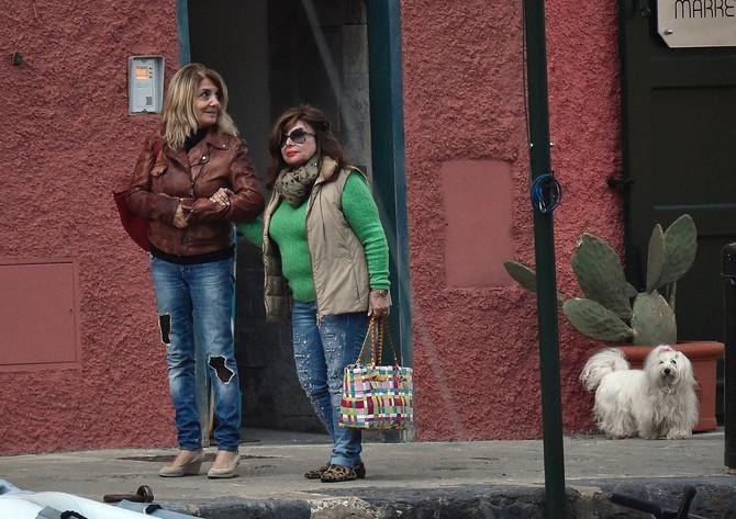 Patrisija sa ćerkom Alegrom prošle godine u Portofinu