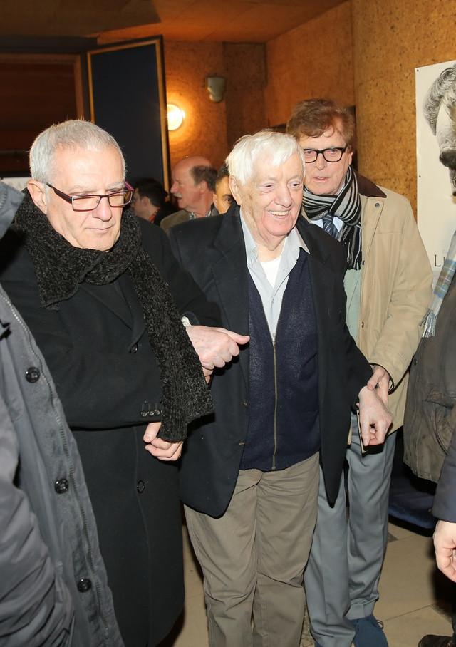 Đorđe Marjanović uz pomoć prijatelja došao na komemoraciju