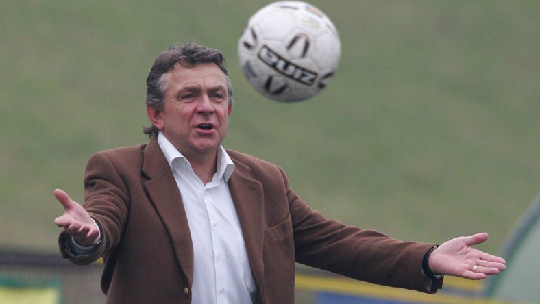 Janusz Wójcik nowym trenerem Widzewa