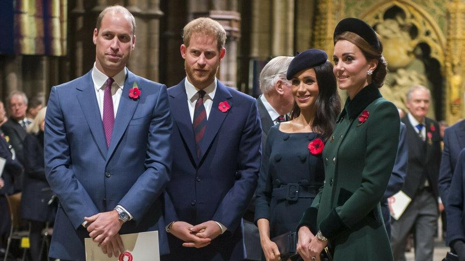 William, Harry, Meghan i Kate
