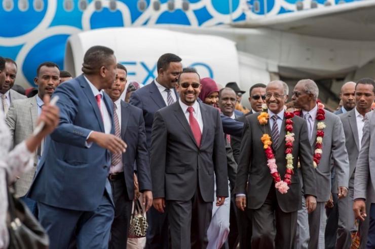 Etiopija Eritreja AP