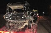 Loznica01 poginule majka i cerka smrskano vozilo foto s.pajic