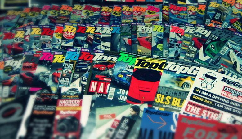Giełda TopGear - zbierz całą kolekcje magazynu TopGear!