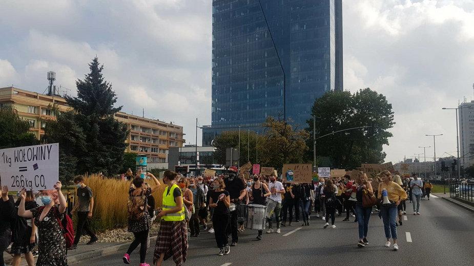Dzisiejszy protest w Gdańsku
