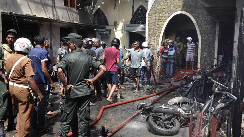 Sri Lanka: rośnie liczba ofiar ataków na kościoły i hotele