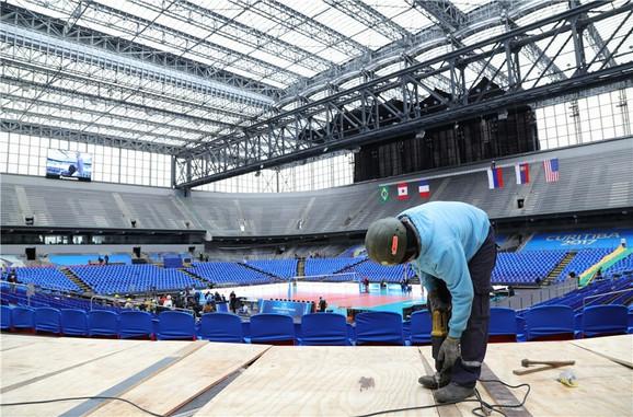 Arena Baišada na kojoj će se odigrati završni turnir Svetske lige