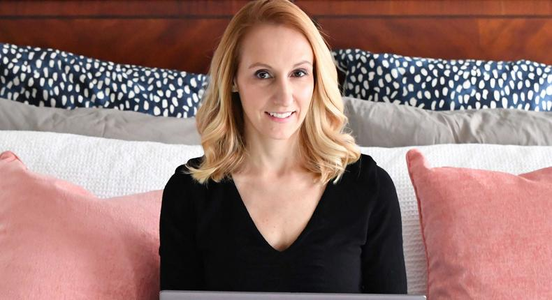 Aimee Greczmiel is a life coach and former banking exec.