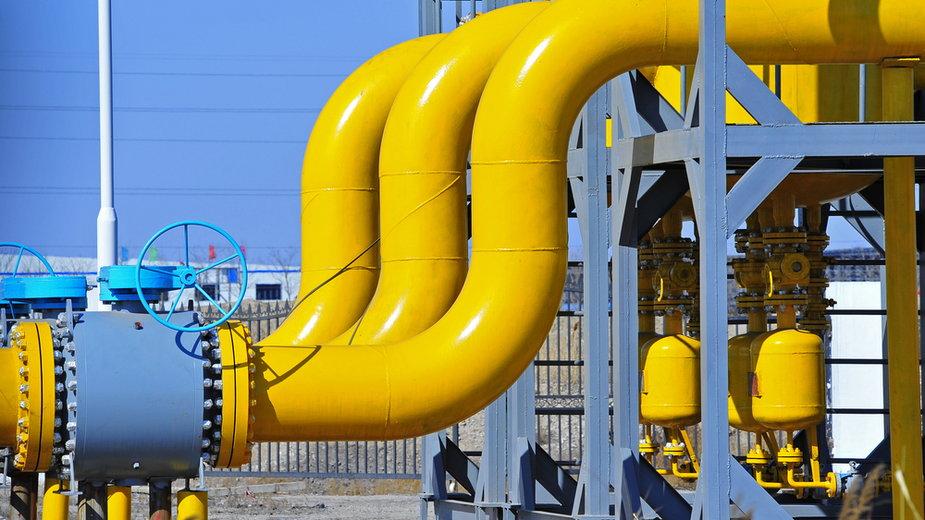 Sieć przesyłowa gazu, zdjęcie ilustracyjne