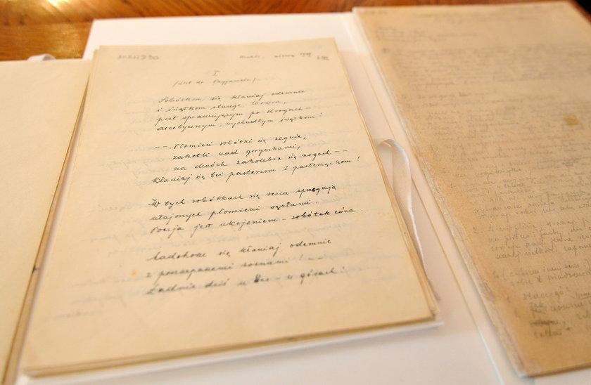 Rękopisy Jana Pawła II