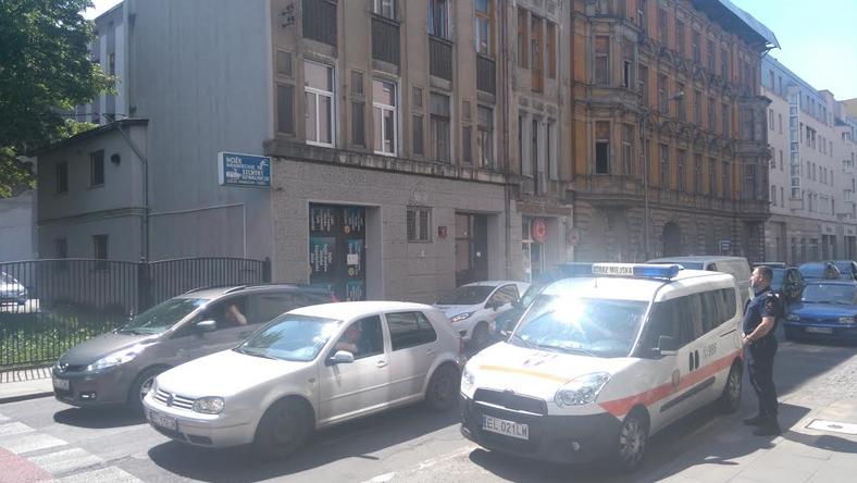 Zlikwidowany sklep z dopalaczami w centrum Łodzi