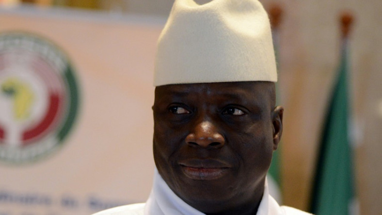 Jammeh, pictured at a West African summit in Ivory Coast in 2014
