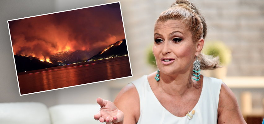 Katarzyna Skrzynecka o pożarach w Turcji. W mocnych słowach krytykuje turystów