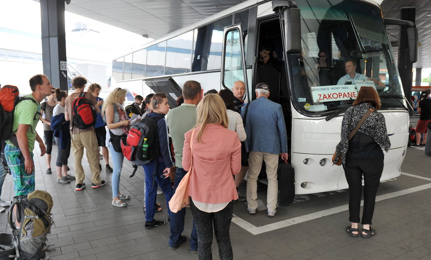 autobus dworzec autobusowy