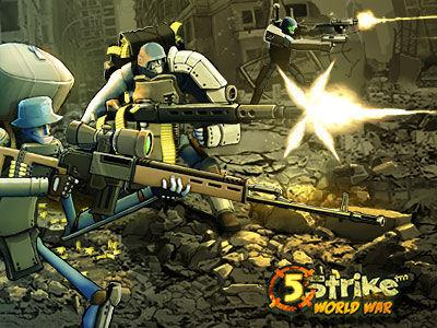 gameplanet 5strike World War