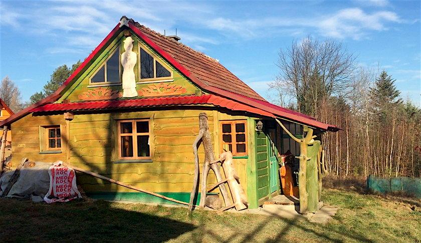 Dom Pawlików w Rudawce