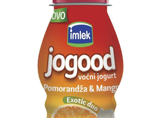 Imlek donosi novi ukus Jogood voćnog jogurta:U susret letu Exotic Duo - pomorandža i mango je sve što vam treba