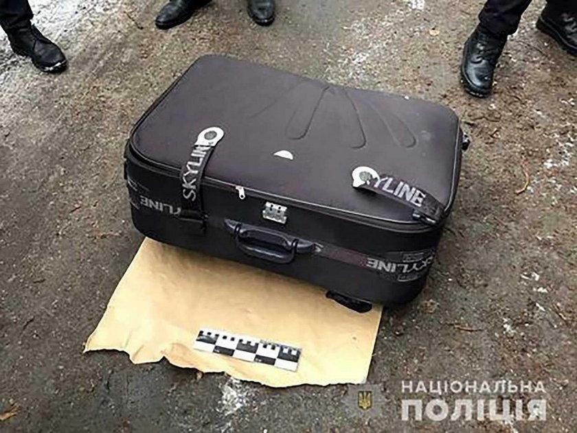 Ukraina: Zwłoki 19-latki w walizce. Została uduszona