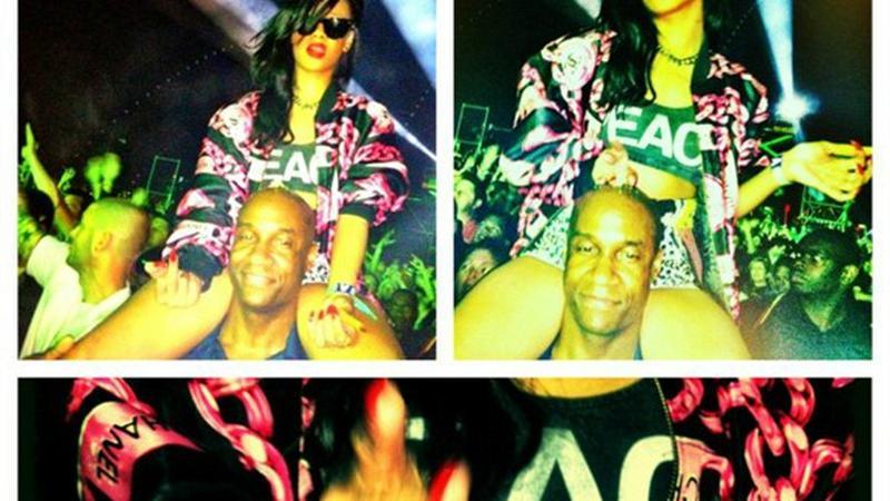 Rihanna (fot. Instagram)