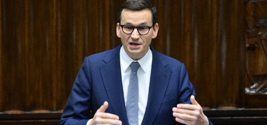 """Premier ostro do opozycji. Mówił o """"chorej wyobraźni"""""""