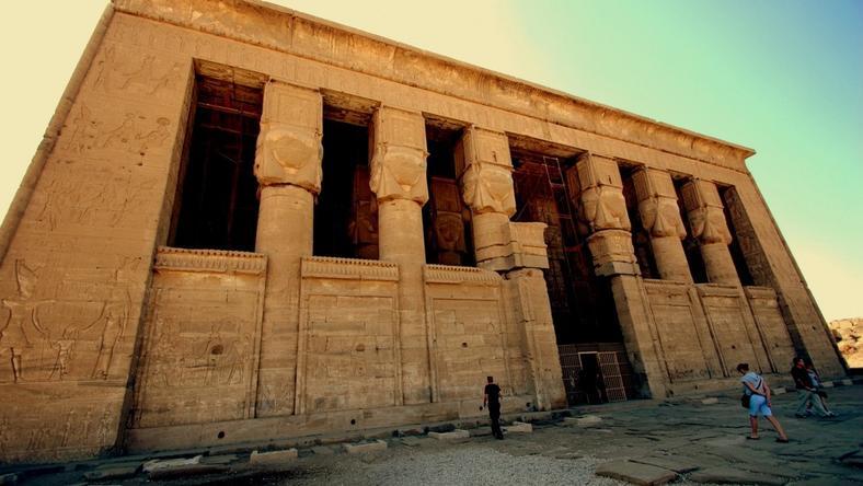 Dendera, Egipt