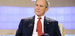 Chciał rozjechać Busha?