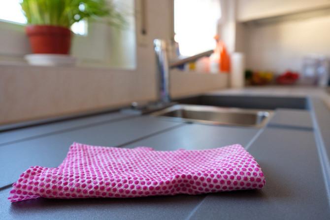 Kuhinjske krpe su izvor zaraze