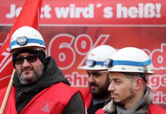 Štrajk radnika čeličane u Dortmundu