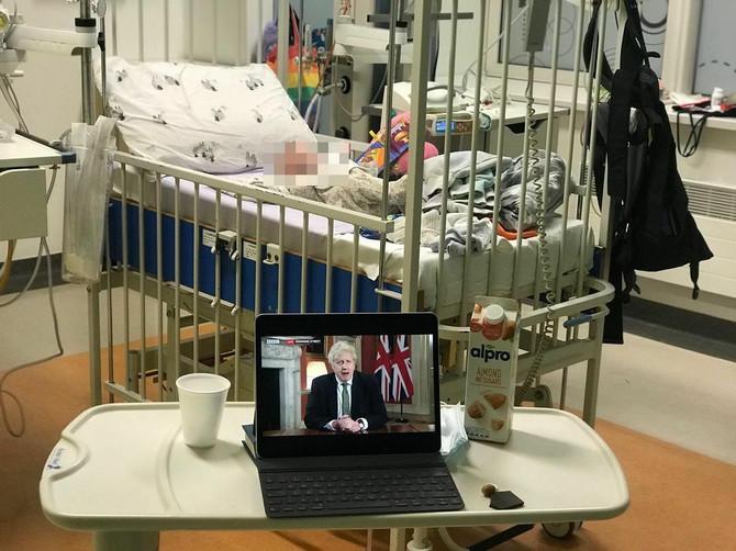 Sinčić Džesi Kejv u bolnici