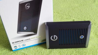 G-Technology G-Drive Mobile Pro SSD im Test: sehr schnell