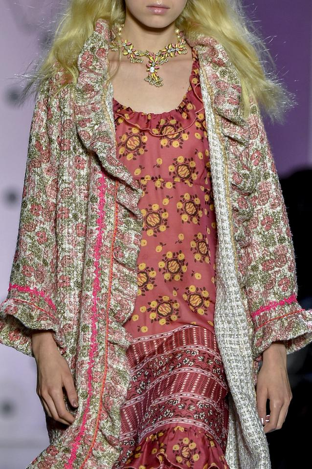 Kwieciste motywy / Anna Sui Paris Fashion Week