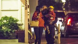 Kylie Jenner na spacerze z Tygą. Nagle zobaczyli paparazzi i… Miłość na pokaz?