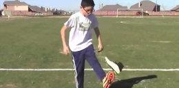 Niesamowity 10-latek żongluje butem, kostką Rubika czy kaskiem! Zobacz WIDEO