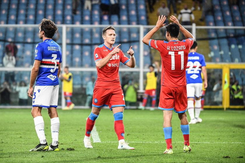 Zieliński stracił początek sezonu (w tym trzy mecze eliminacji mistrzostw świata) w związku z urazem, ale szybko dochodzi do siebie.