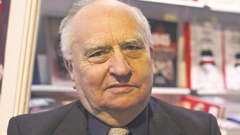 PROF. LECH WYSZCZELSKI badacz historii wojny polsko-bolszewickiej i autor kilkudziesięciu książek poświęconych tej tematyce