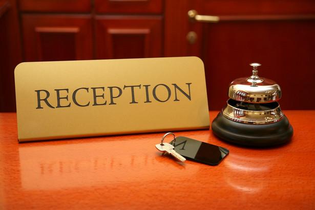 Hotelowa recepcja