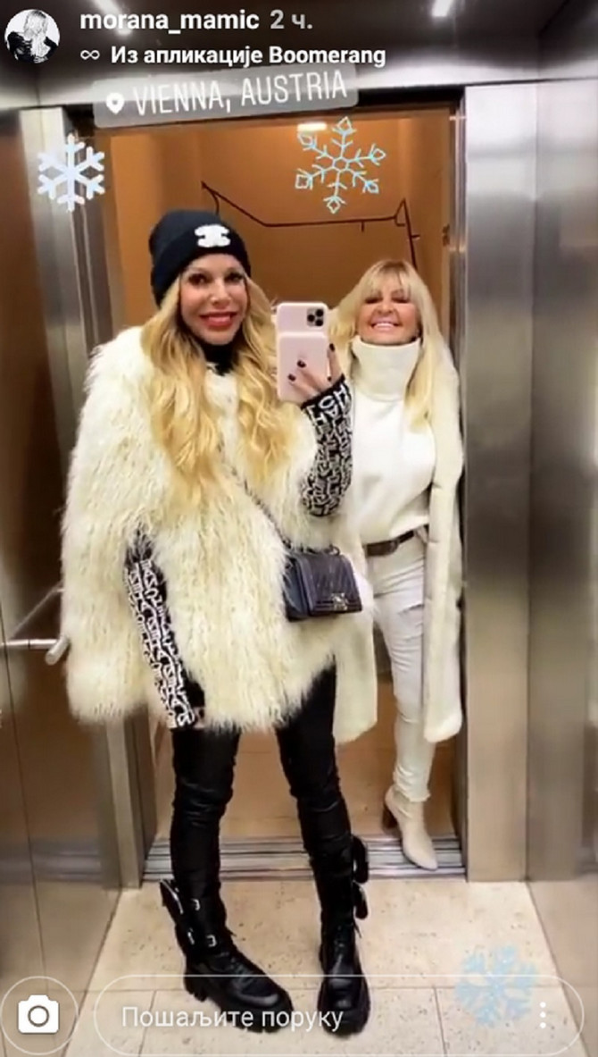 Morana Mamić sa majkom