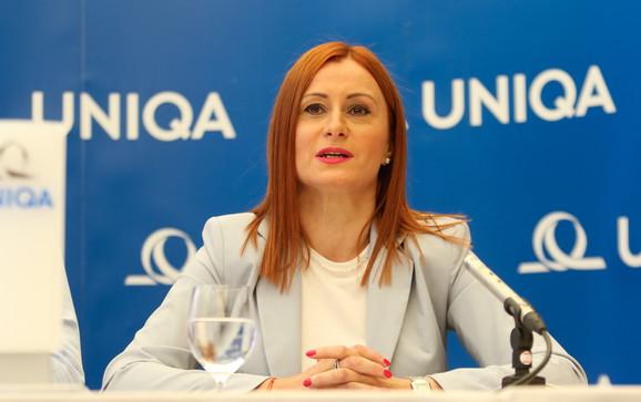 Sonja Marić direktorka Sektora za marketing i korporativne komunikacije u kompaniji