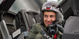 Kamil Stoch poleciał F-16! FILM