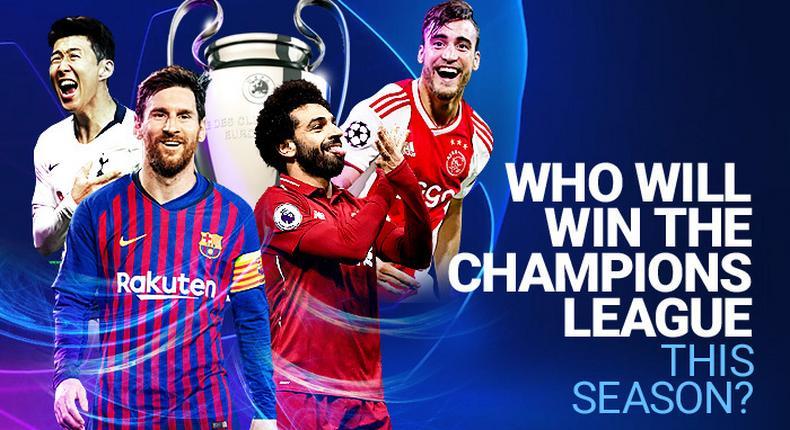 UEFA Champions league semi-finalists
