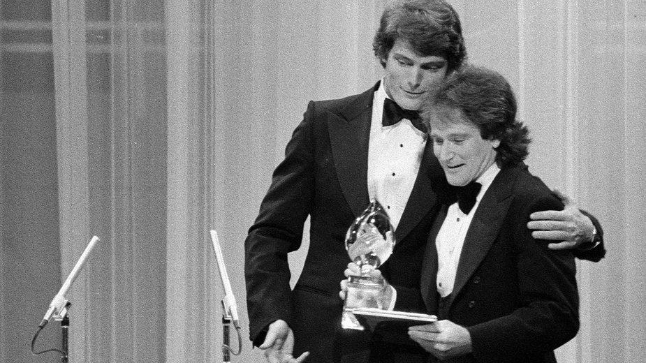 Christopher Reeve i Robin Williams w 1979 roku